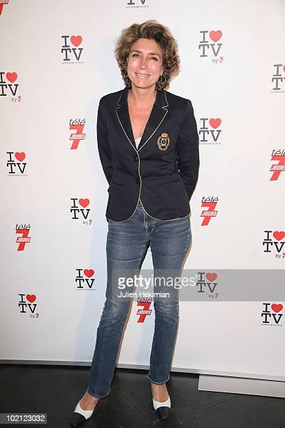 Marie Ange Nardi attends the 1st edition of 'La Fete de la Tele' at Le Showcase on June 15 2010 in Paris France