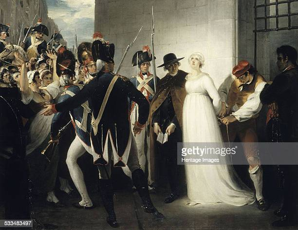 Marie Antoinette Being Taken to Her Execution on 16 October 1793 1794 Found in the collection of Musée de la Révolution française Vizille