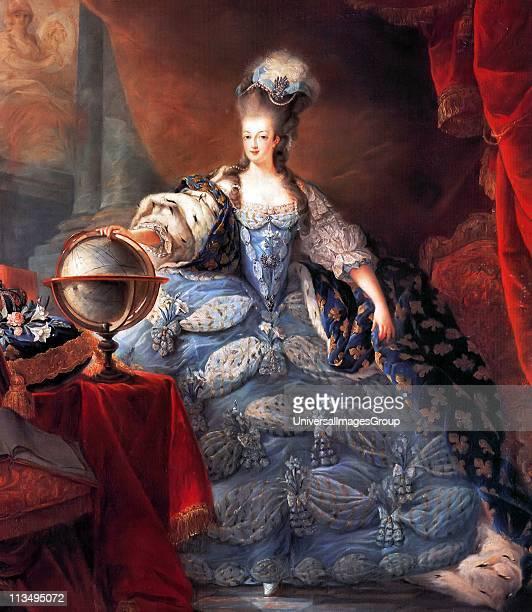Marie Antoinette Queen Consort of France Marie Antoinette Queen of France in coronation robes by JeanBaptiste Gautier Dagoty 1775