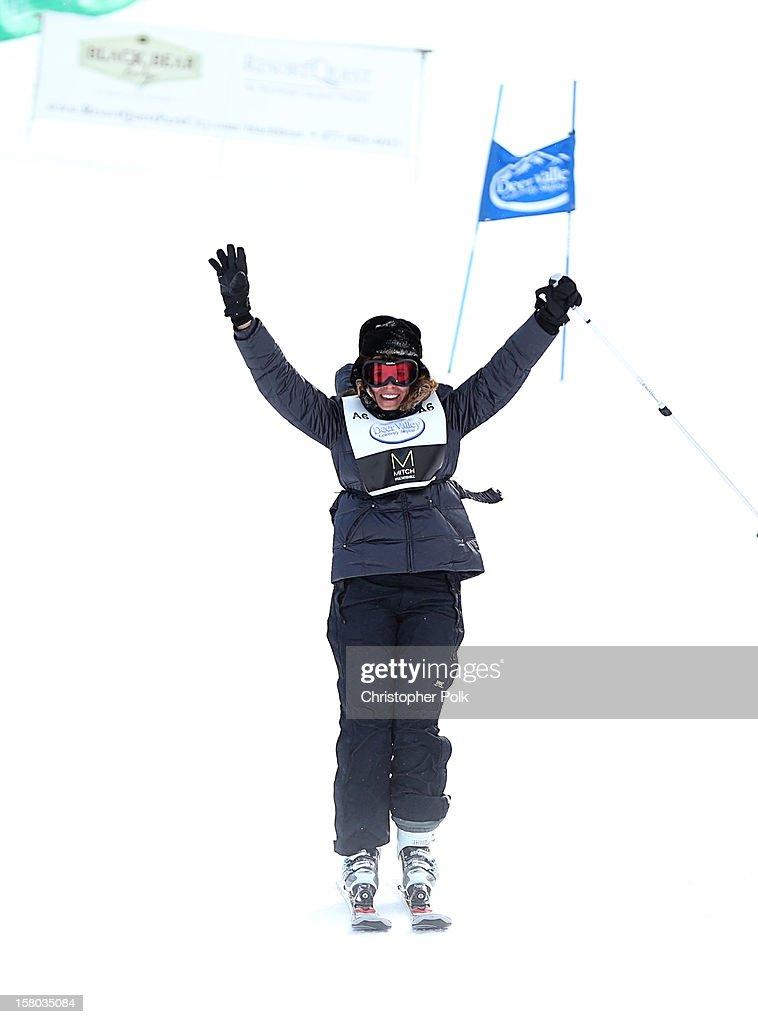 Marie Argeris attends the Deer Valley Celebrity Skifest at Deer Valley Resort on December 9, 2012 in Park City, Utah.