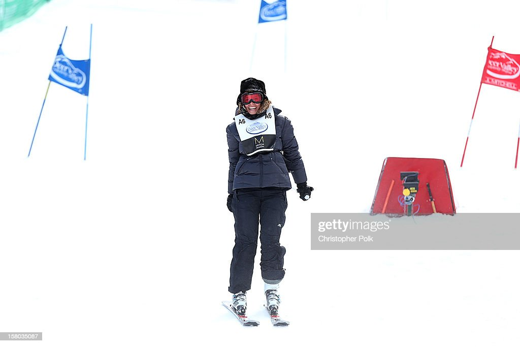 Marie Argeris attends the Deer Valley Celebrity Skifest at Deer Valley Resort on December 9, 2012 in Park City, Utah.