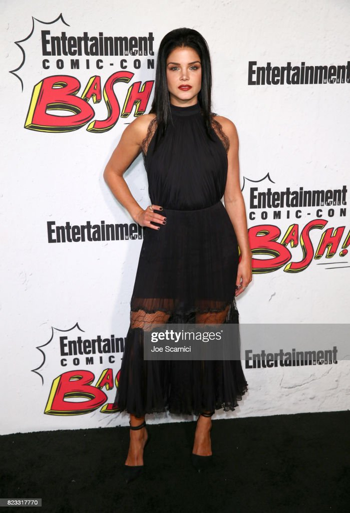 Marie Avgeropoulos at Entertainment Weekly's annual Comic-Con party in celebration of Comic-Con 2017 at Float at Hard Rock Hotel San Diego on July 22, 2017 in San Diego, California.