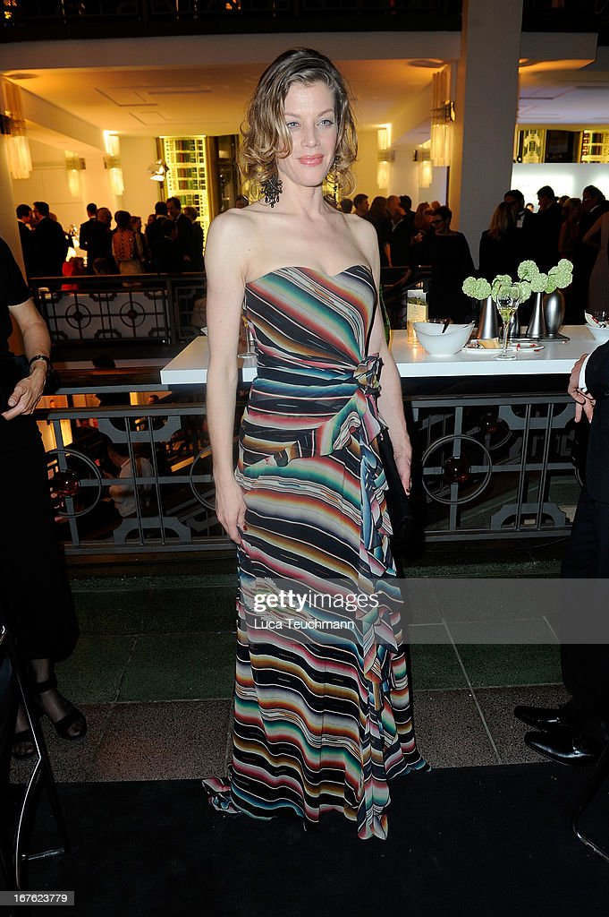 Marie Baeumer attends the Lola - German Film Award 2013 - Party at Friedrichstadt-Palast on April 26, 2013 in Berlin, Germany.