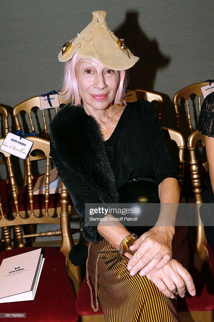 Marie Beltrami attends Alexis Mabille show as part of the Paris Fashion Week Womenswear Spring/Summer 2014 at Docks en Seine on September 25, 2013 in Paris, France.