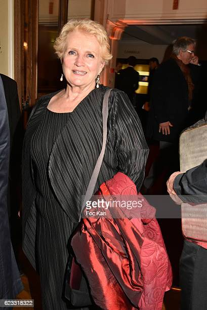 Marie Christine Barrault attends the Gala de L'Espoir 2016 at Theatre du Chatelet on November 14 2016 in Paris France y