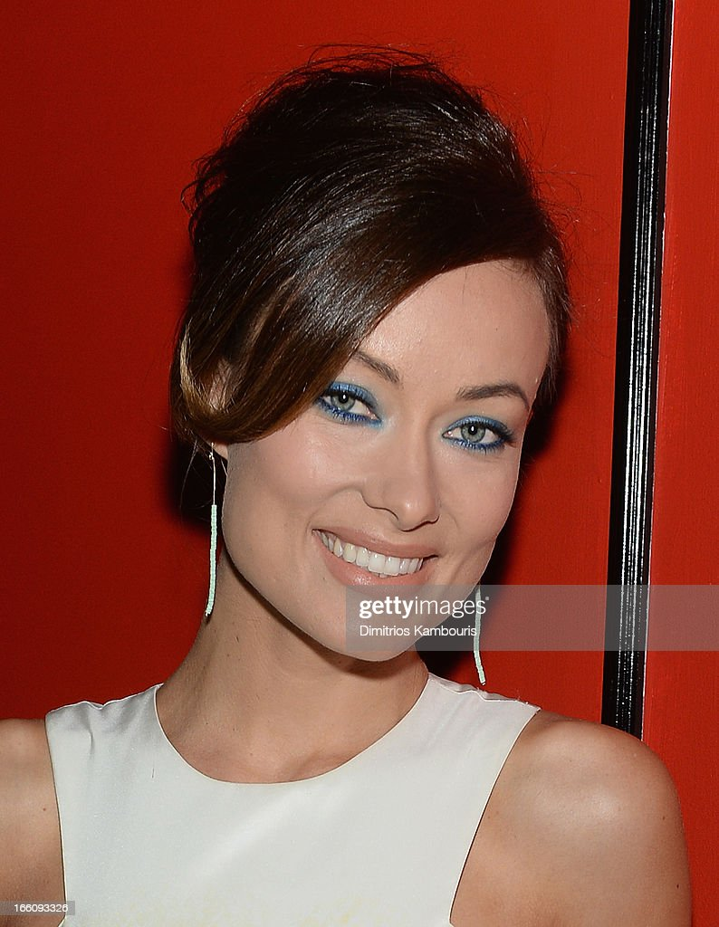 Marie Claire honors Olivia Wilde and her April cover on April 8, 2013 in New York City.