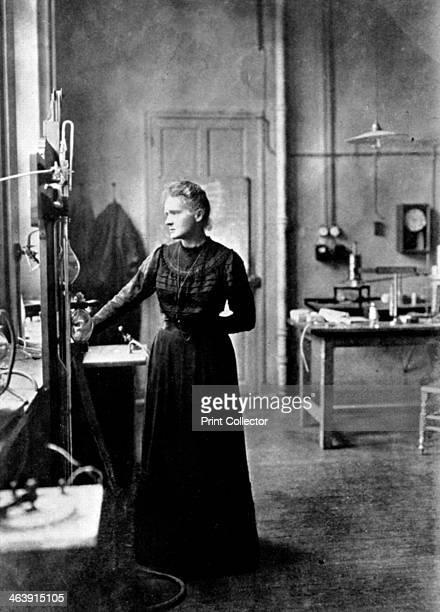 Marie Curie Polishborn French physicist in her laboratory 1912 The previous year Curie was awarded her second Nobel prize She won the Nobel prize for...