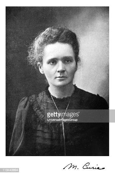 Marie Curie Polishborn French physicist Picture published 1917