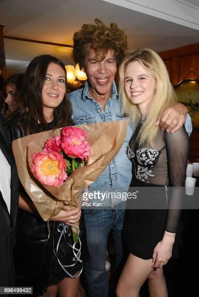Marie de Fleurieu Igor Bogdanov and Julie Jardon attend 'Je Voulais Te Dire' Screening Cocktail at Cinema Club13 on June15 2017 in Paris France