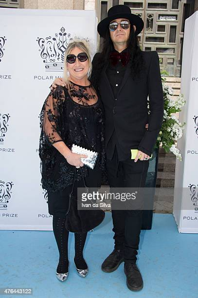 Marie Dimberg and Jonas Akerlund attend Polar Music Prize at Stockholm Concert Hall on June 9 2015 in Stockholm Sweden