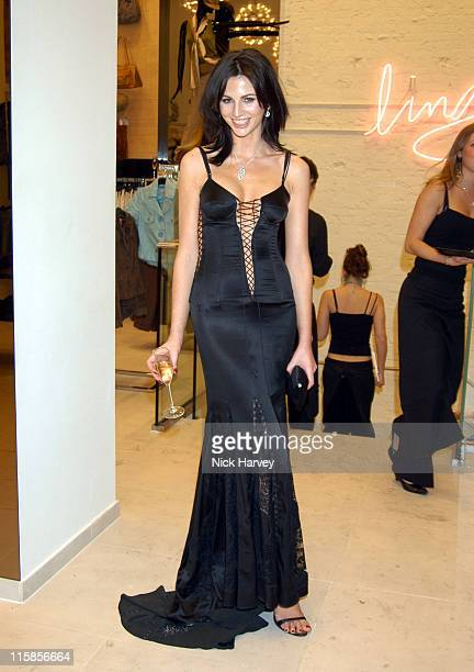 Marie Donohue during HM Flagship Store Launch Inside at HM Knightsbridge in London Great Britain