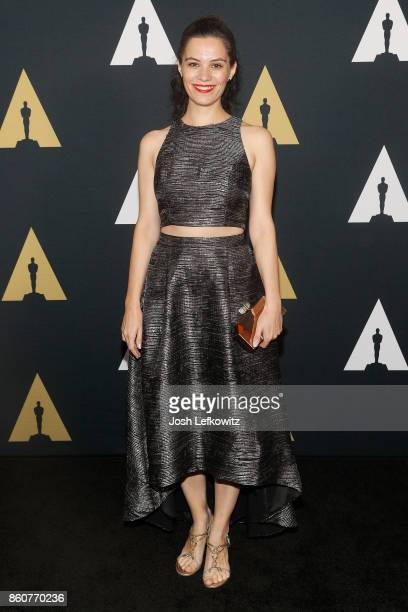 Marie Dvorakova attends the Academy of Motion Picture Arts And Sciences 44th Student Academy Awards at Samuel Goldwyn Theater on October 12 2017 in...