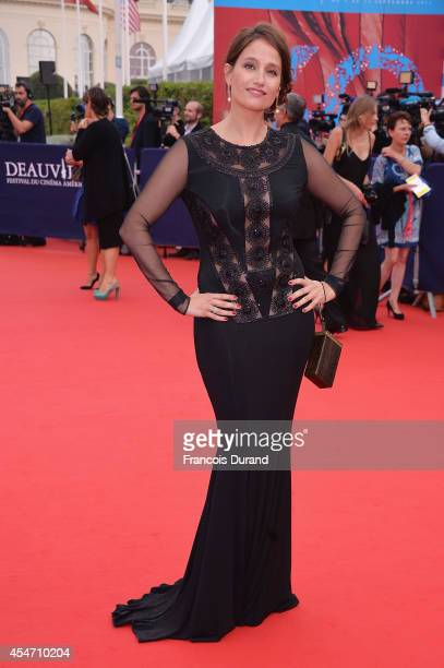 Marie Gillain arrives at the opening ceremony of 40th Deauville American Film Festival on September 5 2014 in Deauville France