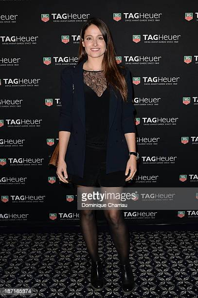Marie Gillain attends the Opening of the TAG Heuer New Boutique Followed By An Evening Celebrating 50 years of Carerra In Pavillon Vendome on...