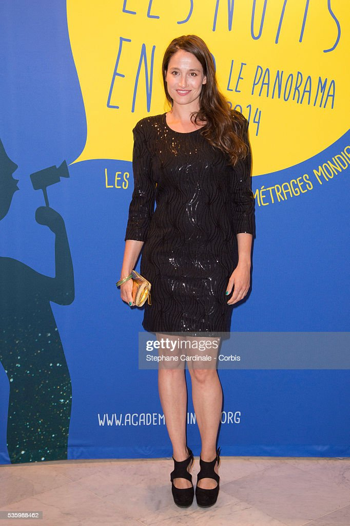 Marie Gillain attends the 'Panorama des Nuits en or' gala dinner at UNESCO on June 16, 2014 in Paris, France.