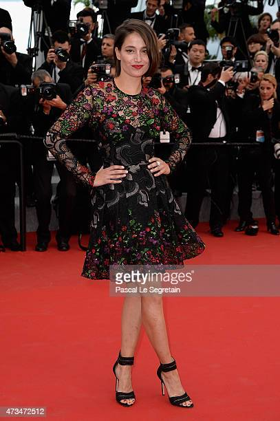 Marie Gillain attends the Premiere of 'Irrational Man' during the 68th annual Cannes Film Festival on May 15 2015 in Cannes France