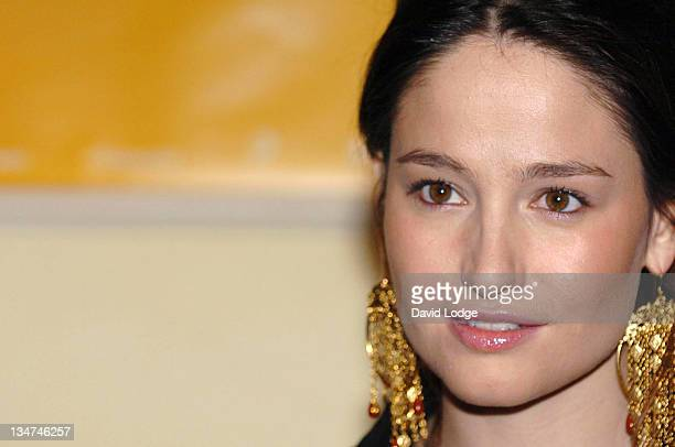 Marie Gillain during 2006 Renault French Film Festival Launch at The British Academy in London Great Britain