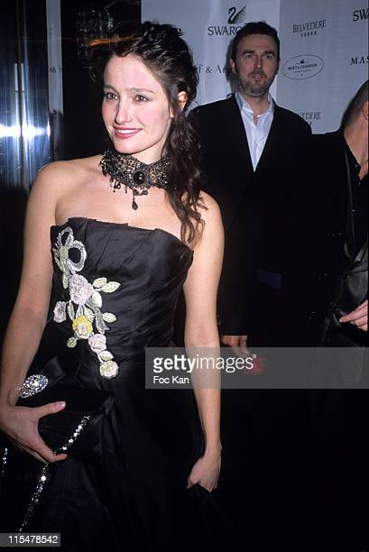 Marie Gillain during Albane Cleret's Jimmy'z Party Paris February 24 2007 in Paris France