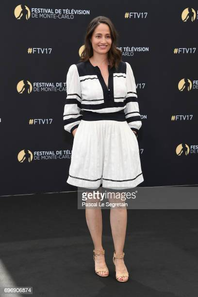 Marie Gillain from 'Souviens toi' TV Show poses for a Photocall during the 57th Monte Carlo TV Festival Day Two on June 17 2017 in MonteCarlo Monaco