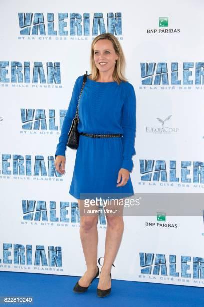 Marie Guillard attends 'Valerian et la Cite desMille Planetes' Paris Premiere at La Cite Du Cinema on July 25 2017 in SaintDenis France