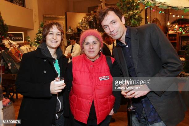 Marie Havens Anita Antonini and Tom Sykes attend Anthropologie Hosts US Book Launch of BLOW BY BLOW at Anthropologie at Rockefeller Center on...