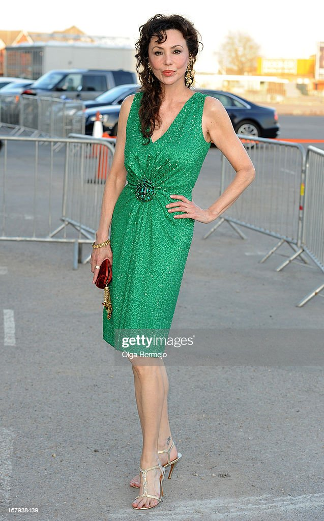 Marie Helvin attends the annual fundraiser in aid of Gabrielle's Angel Foundation for Cancer Research at Battersea Power station on May 2, 2013 in London, England.