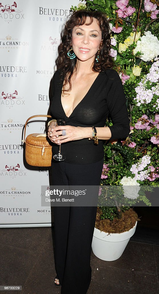 <a gi-track='captionPersonalityLinkClicked' href=/galleries/search?phrase=Marie+Helvin&family=editorial&specificpeople=159678 ng-click='$event.stopPropagation()'>Marie Helvin</a> attends the Maddox Club third anniversary party at the Maddox Club on April 28, 2010 in London, England.