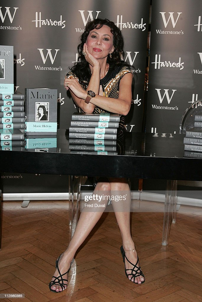 Duplicate: Marie Helvin - Book Signing & Photocall