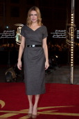 Marie Josee Croze arrives for a Tribute To Zhang Yimou at the 12th International Marrakech Film Festival on December 2 2012 in Marrakech Morocco