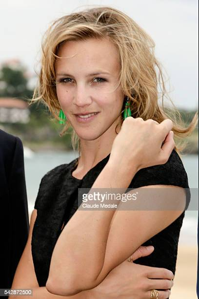 Marie Kremer actress jury members of the First St Jean de Luz International Film Festival
