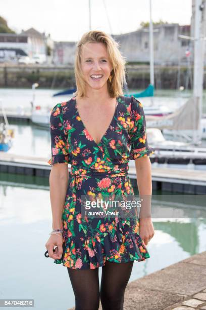 Marie Kremer attends 'Un Ciel Radieux' Photocall during the 19eme Festival of TV Fiction on September 14 2017 in La Rochelle France