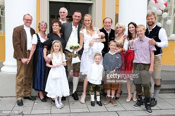 Marie Luise Schwarzensteiner aunt of Thomas Frank her partner Knut Grape Reinhold Frank and his wife Hannelore Frank parents of Thomas Frank...