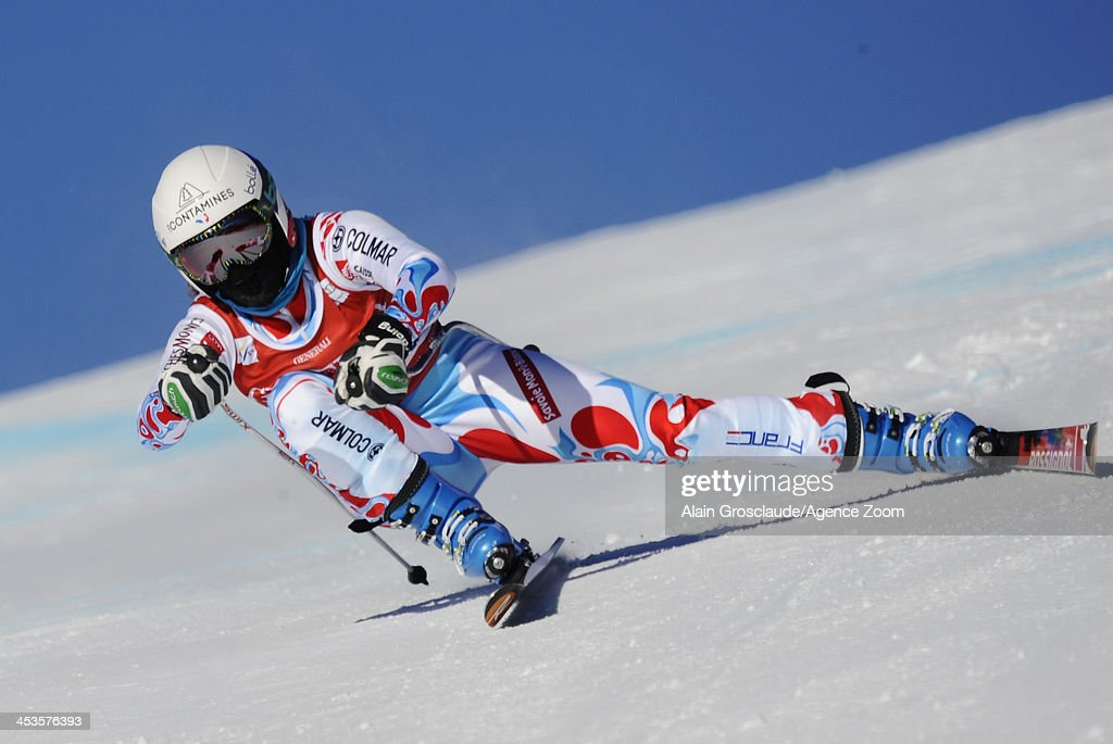 <a gi-track='captionPersonalityLinkClicked' href=/galleries/search?phrase=Marie+Marchand-Arvier&family=editorial&specificpeople=722482 ng-click='$event.stopPropagation()'>Marie Marchand-Arvier</a> of France competes during the Audi FIS Alpine Ski World Cup Women's Downhill Training on December 04, 2013 in Lake Louise, Canada.