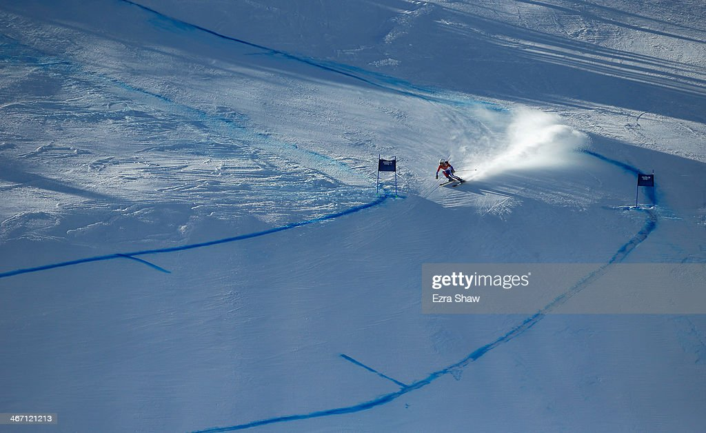<a gi-track='captionPersonalityLinkClicked' href=/galleries/search?phrase=Marie+Marchand-Arvier&family=editorial&specificpeople=722482 ng-click='$event.stopPropagation()'>Marie Marchand-Arvier</a> of France skis during training for the Alpine Skiing Women's Downhill ahead of the Sochi 2014 Winter Olympics at Rosa Khutor Alpine Center on February 6, 2014 in Sochi, Russia.