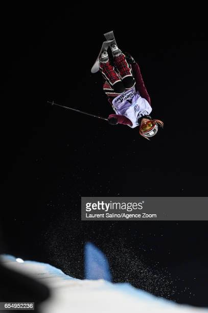 Marie Martinod of France wins the silver medal during the FIS Freestyle Ski Snowboard World Championships Halfpipe on March 18 2017 in Sierra Nevada...
