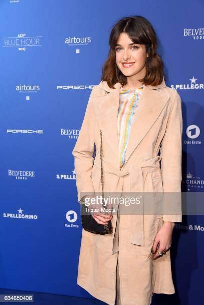 Marie Nasemann attends the Blue Hour Reception hosted by ARD during the 67th Berlinale International Film Festival Berlin on February 10 2017 in...