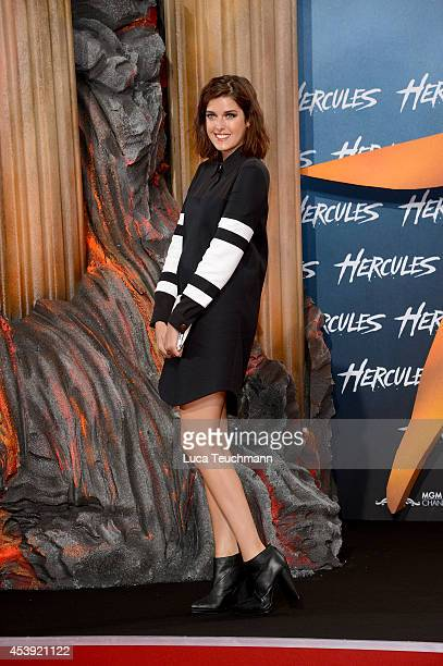 Marie Nasemann attends the European premiere of the film 'Hercules' at CineStar on August 21 2014 in Berlin Germany