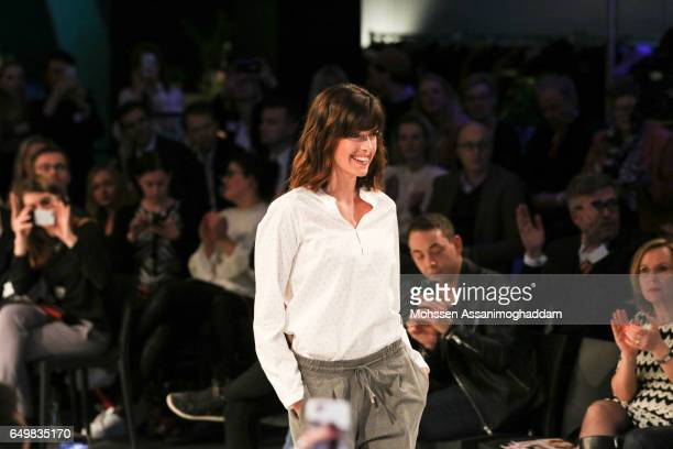 Marie Nasemann attends the Green Carpet Event of Tchibo on March 8 2017 in Hamburg Germany