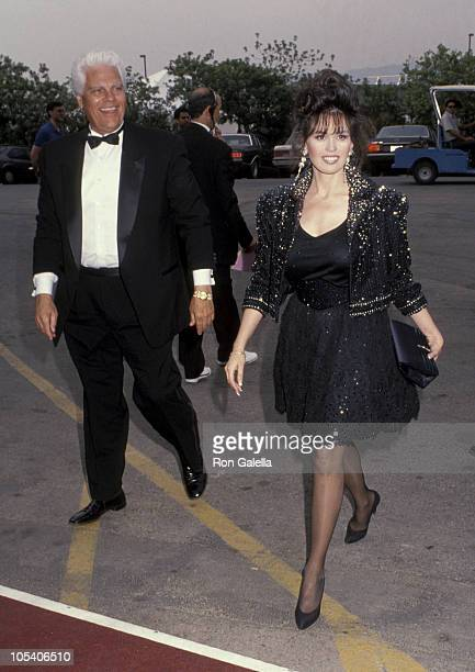 Marie Osmond and guest during 27th Annual Academy of Country Music Awards at Shrine Auditorium in Los Angeles California United States