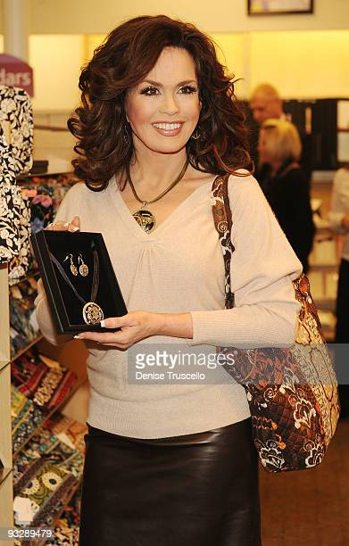 Marie Osmond attends the launch of the ''Marie Lifestyle Collection'' at Hallmark on November 21 2009 in Las Vegas Nevada