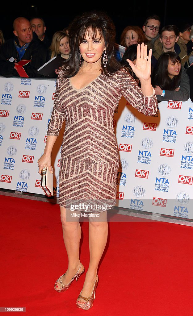 Marie Osmond attends the National Television Awards at 02 Arena on January 23, 2013 in London, England.