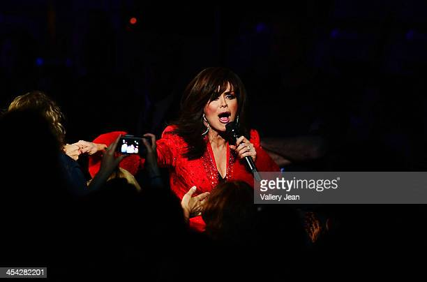 Marie Osmond performs at BBT Center on December 7 2013 in Sunrise Florida