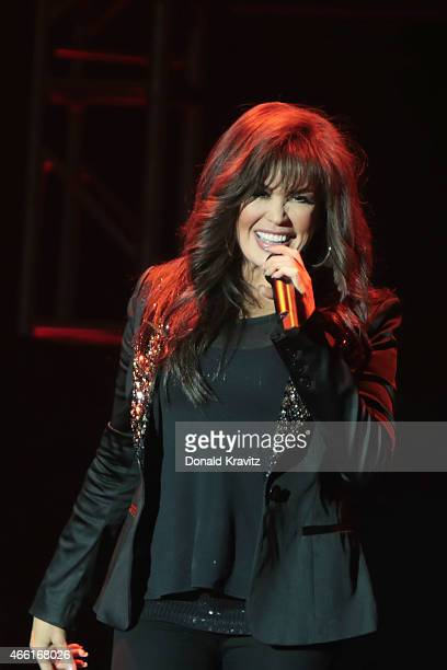 Marie Osmond performs at Borgata Hotel Casino Spa on March 13 2015 in Atlantic City New Jersey