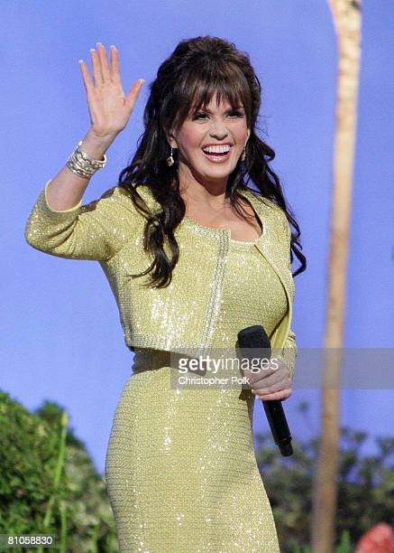 CULVER CITY CA MAY 11 Marie Osmond performs during Teleflora presents America's Favorite Mom in Culver City on May 10 2008 Pasadena CA resident and...