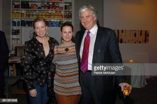 Marie Samuels and William Samuels attend The Chamber Music Society of Lincoln Center Young Patrons Event with Music Art and More at The Caio Fonseca...
