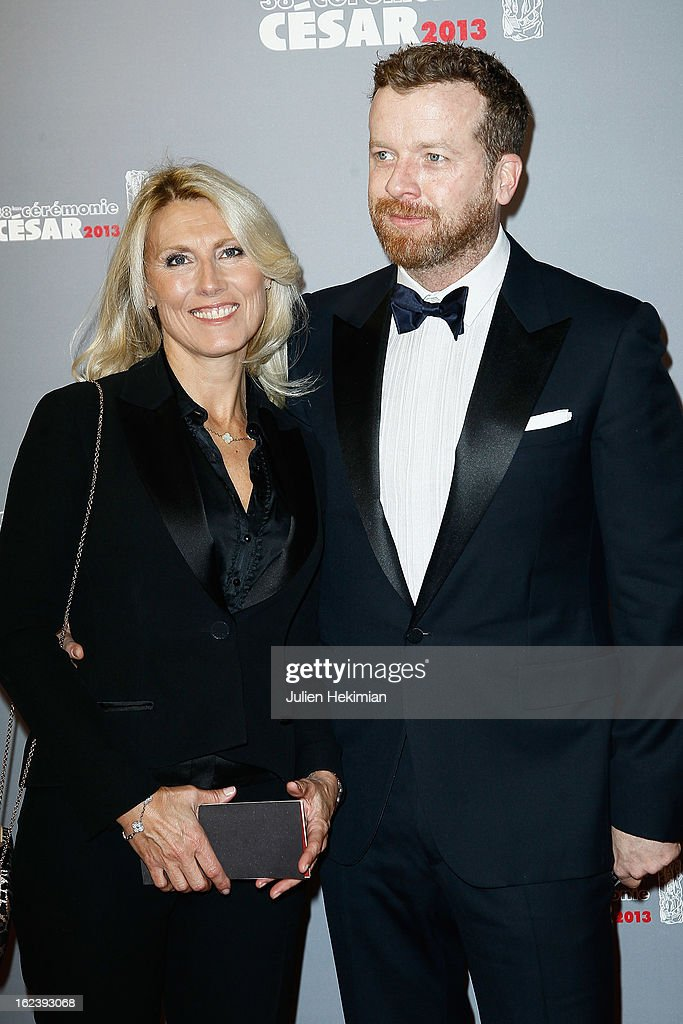 Marie Sara and guest attend the Cesar Film Awards 2013 at Theatre du Chatelet on February 22, 2013 in Paris, France.