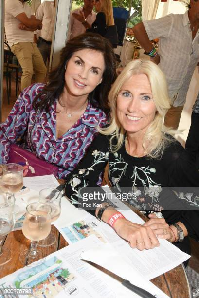 Marie Sara Bourseiller and Caroline Barclay attend La Fete des Tuileries on June 23 2017 in Paris France