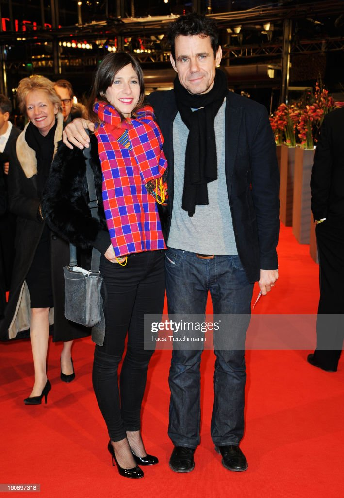 Marie Steinmann and Tom Tykwer attend 'The Grandmaster' Premiere during the 63rd Berlinale International Film Festival at Berlinale Palast on...
