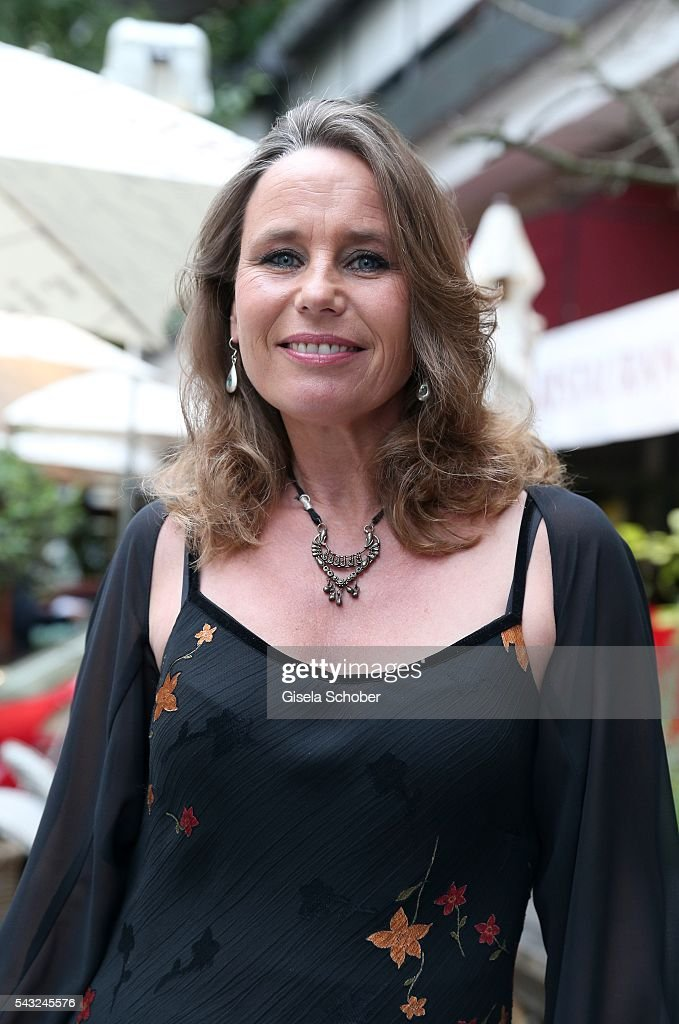Marie Theres Kroetz-Relin during the Peugeot BVC Casting Night during the Munich Film Festival 2016 at Kaeferschaenke on June 26, 2016 in Munich, Germany.