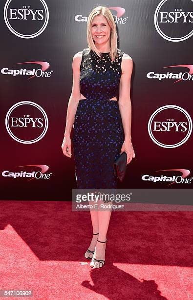 Marie Tillman attends the 2016 ESPYS at Microsoft Theater on July 13 2016 in Los Angeles California